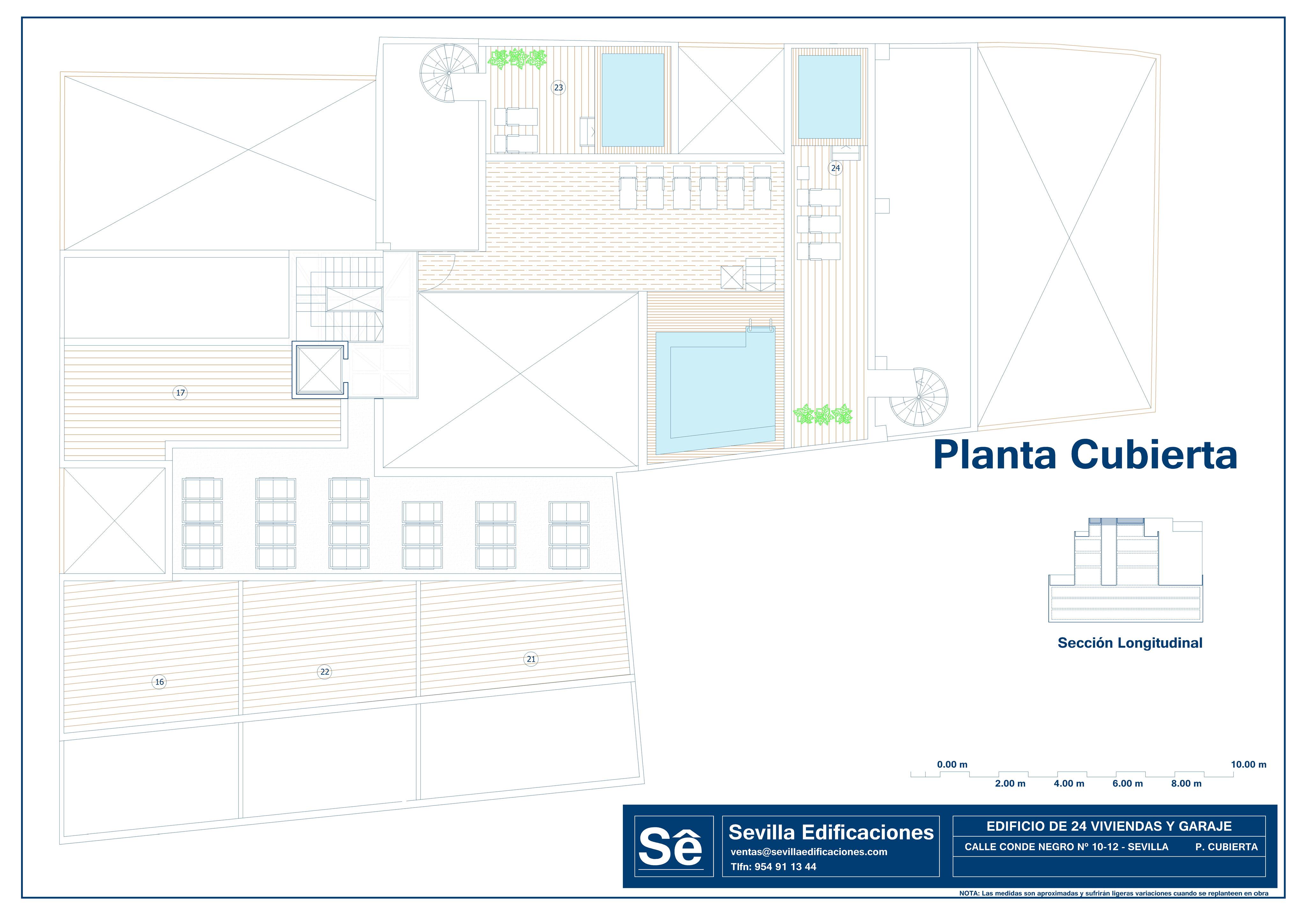 CONDENEGRO_PLANOS_GENERALES 08 PLANTA CUBIERTA
